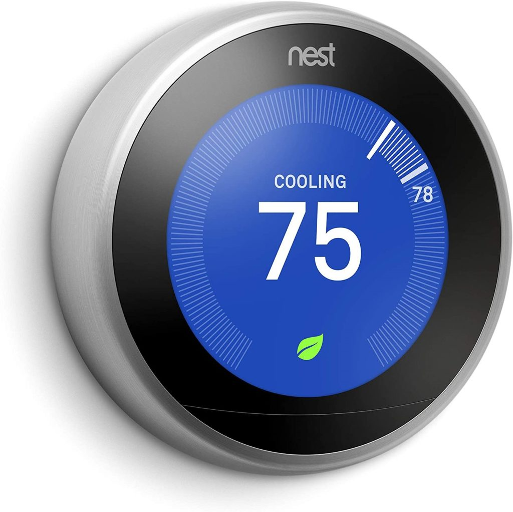 Google T3007ES Nest Learning Thermostat